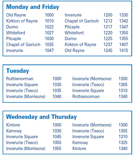 Inverurie Rural A2B timetable.PNG