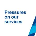 Budget pressures proposal logo