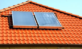 Domestic Hot Water System Solar Panels