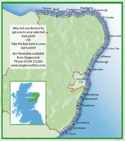 North Sea Trail Map
